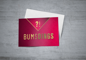 "Herzelein Datingcard ""BUMSDINGS"""